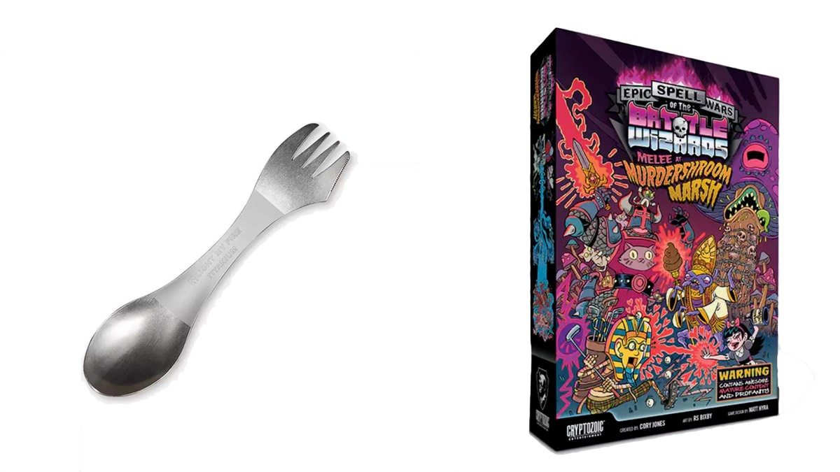 Geek Daily Deals 012118 titanium spork epic spell wars 3