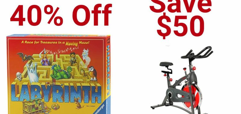 Geek Daily Deals 012418 games puzzles exercise bikes
