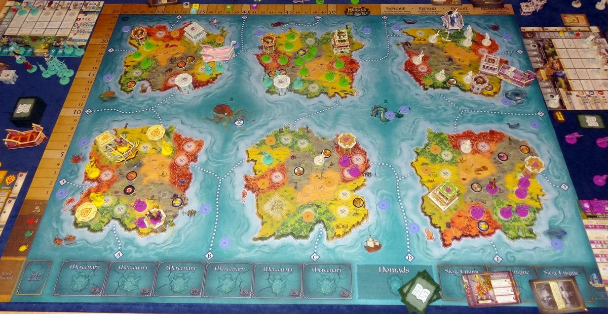 Heroes of Land, Air & Sea 5-player game end