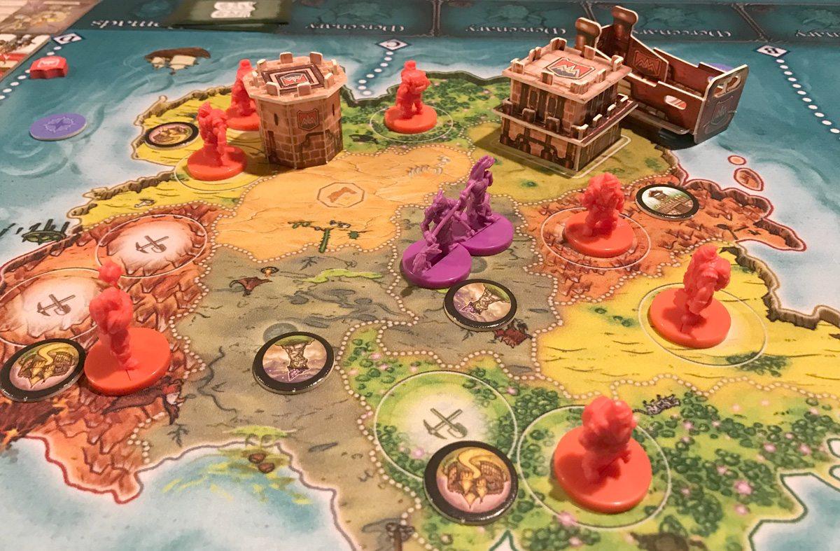 Heroes of Land, Air & Sea dwarves