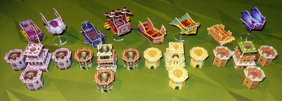 Heroes of Land, Air & Sea expansion constructs