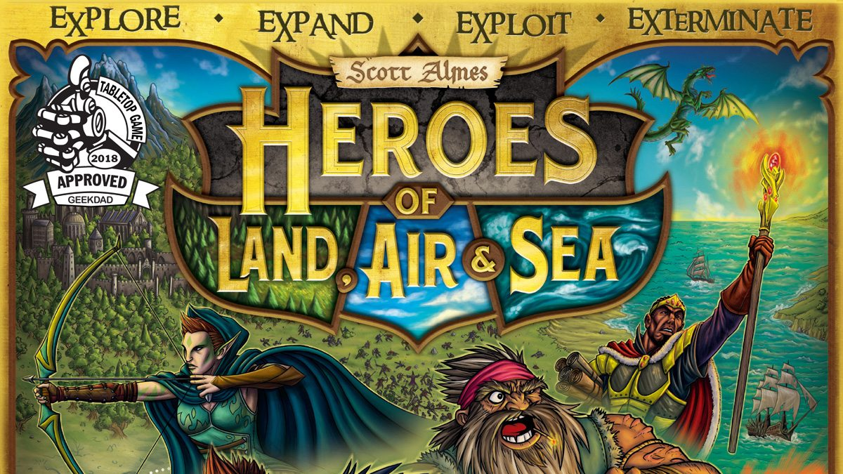 Heroes of Land, Air & Sea featured image