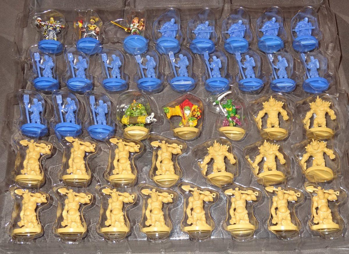 Heroes of Land, Air & Sea miniatures
