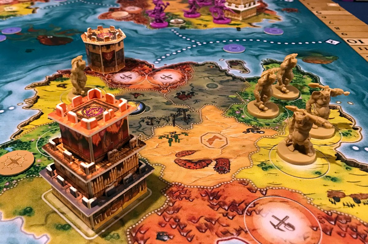 Heroes of Land, Air & Sea orcs land