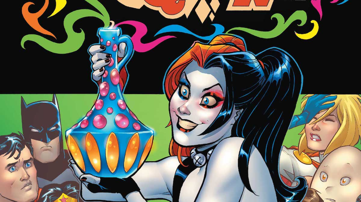 Harley Quinn: Be Careful What You Wish For cover