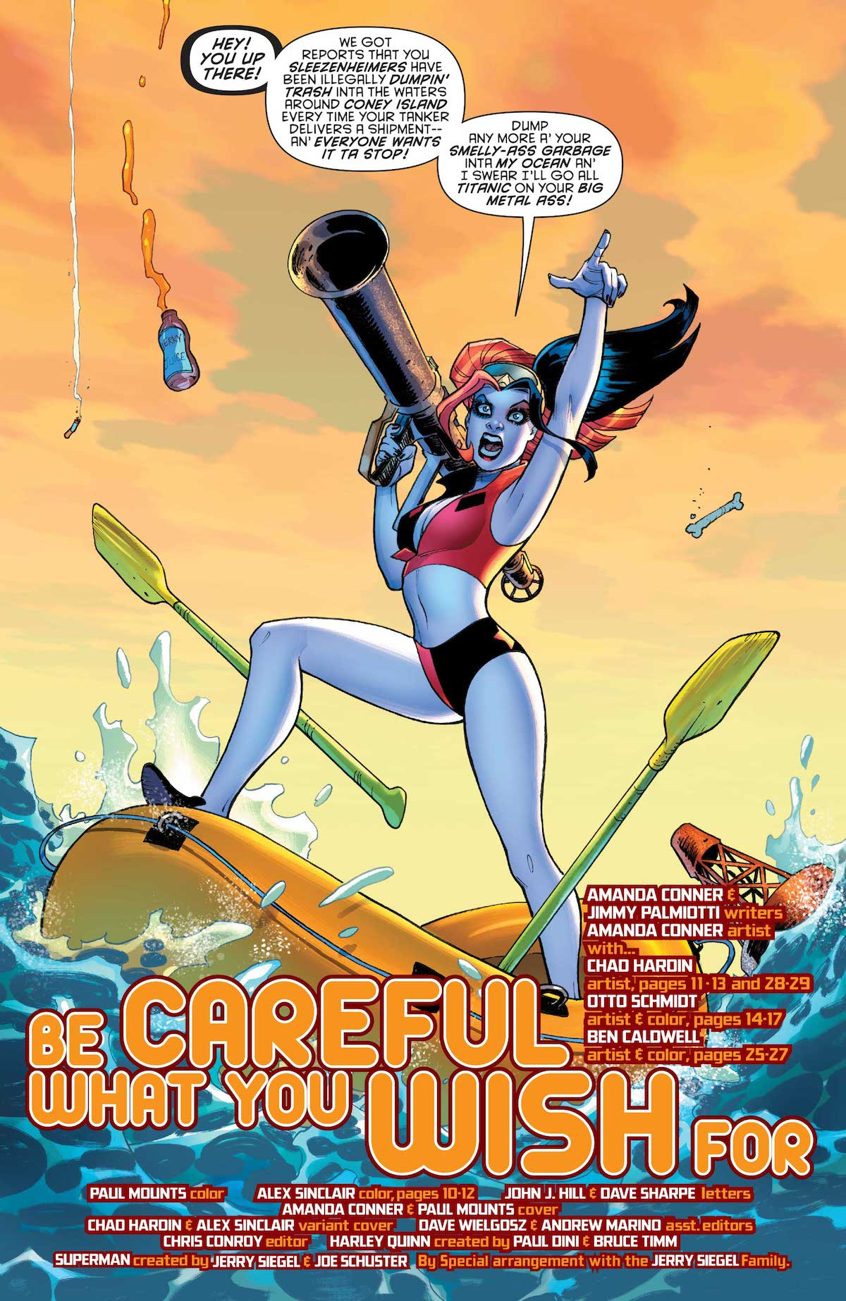 Harley Quinn: Be Careful What You Wish For #1 interior art