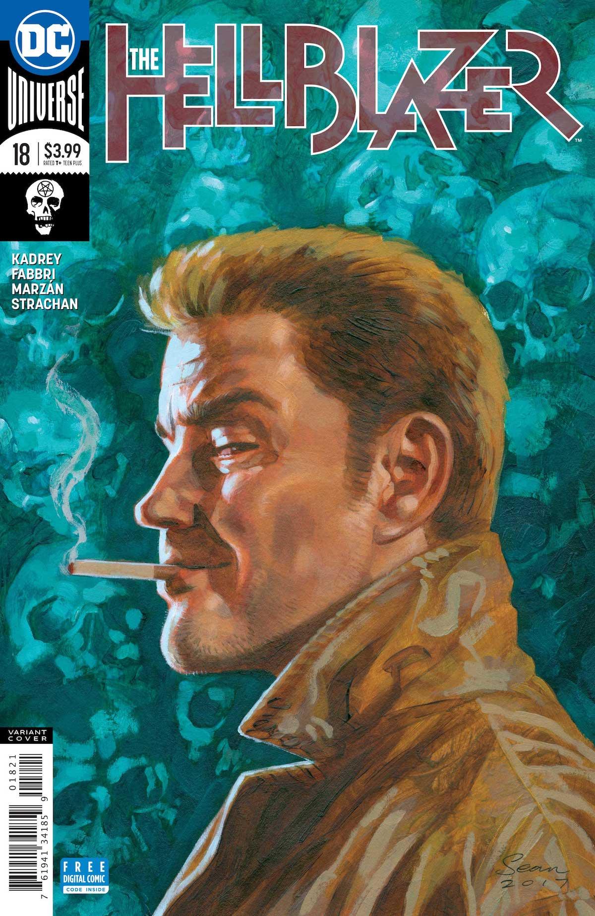 Hellblazer #18 variant cover