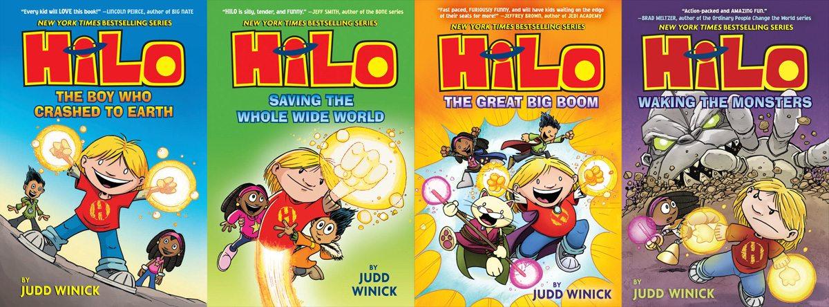 Hilo series by Judd Winick