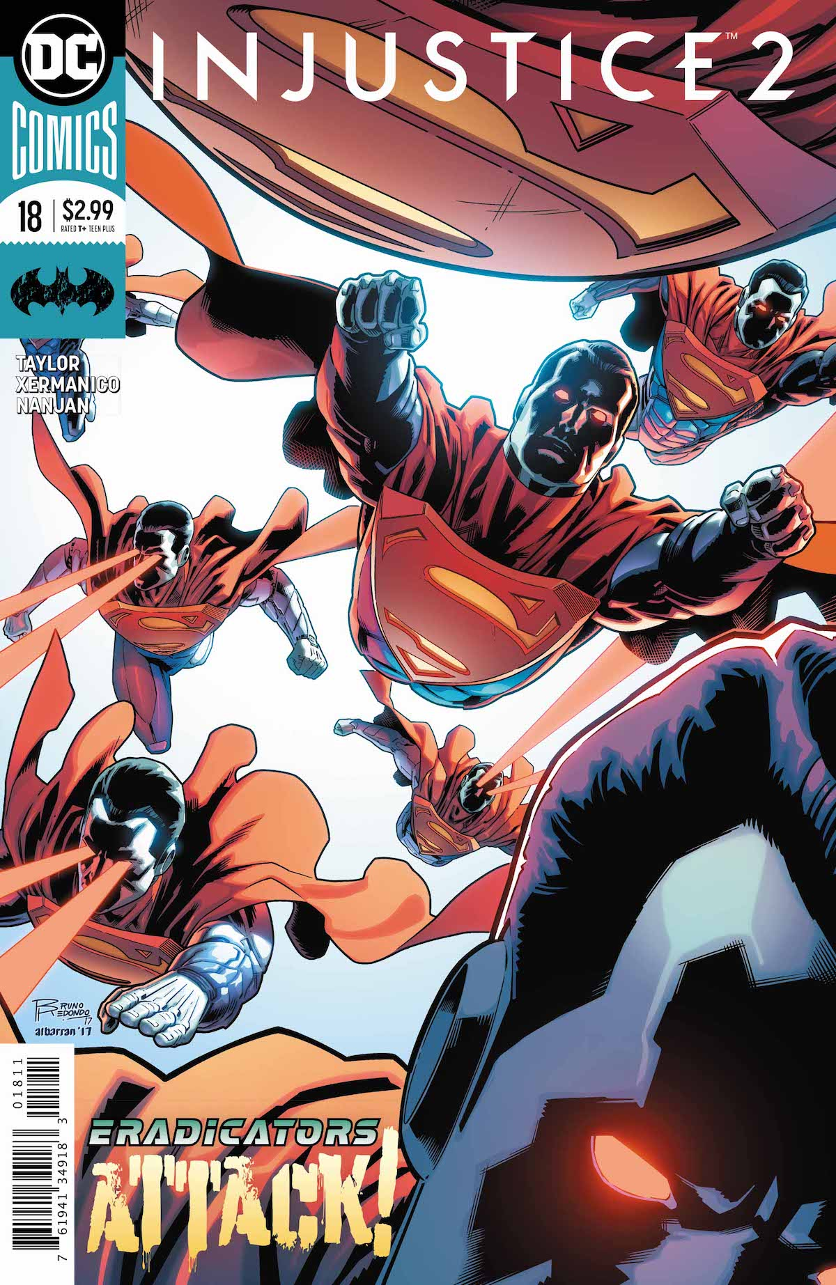 Injustice2 #18 cover