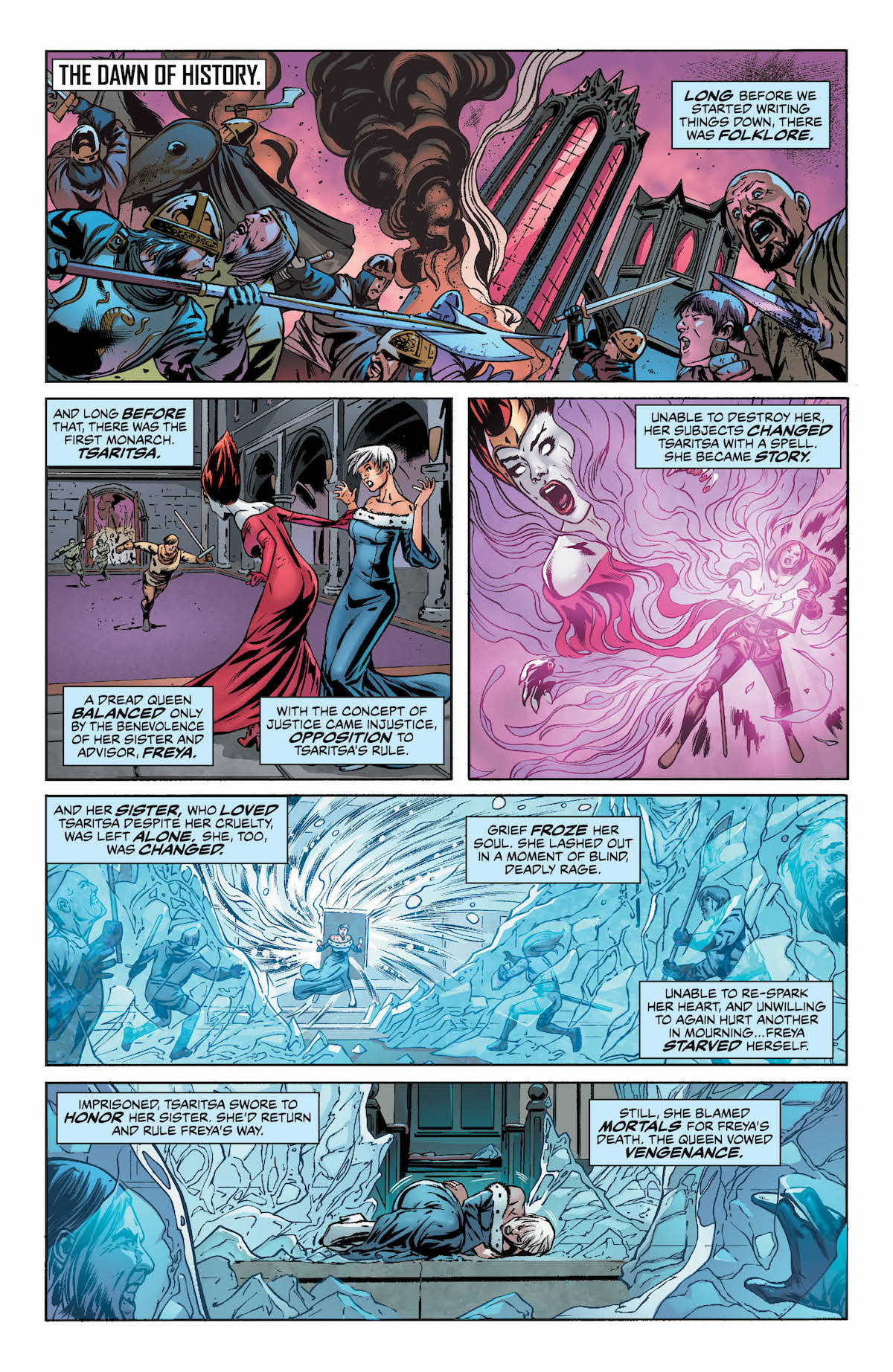 Justice League of America #23 page 1