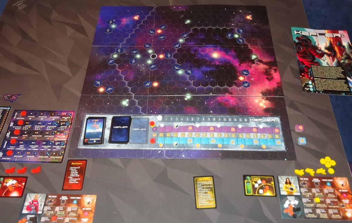 Kepler 3042 2-player setup
