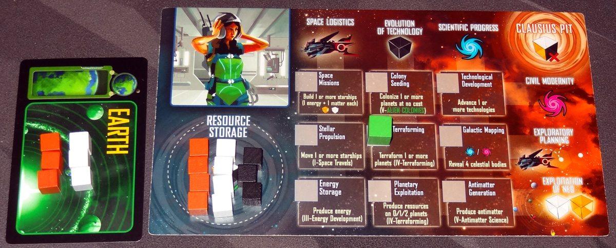 Kepler 3042 action board setup