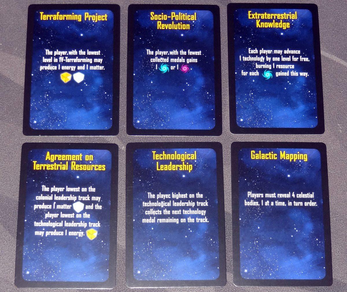 Kepler 3042 progress cards