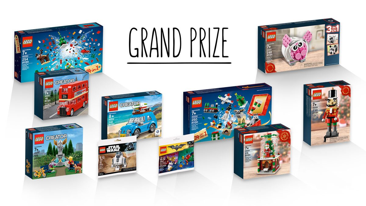 LEGO IDEAS Moments in Space - grand prizes