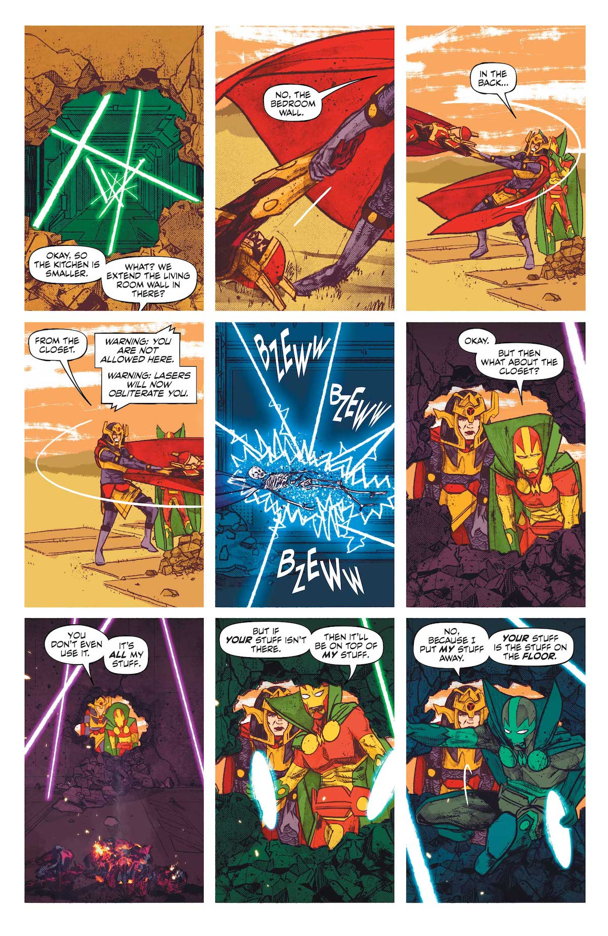 Mister Miracle #6, page 4, Mitch Gerads