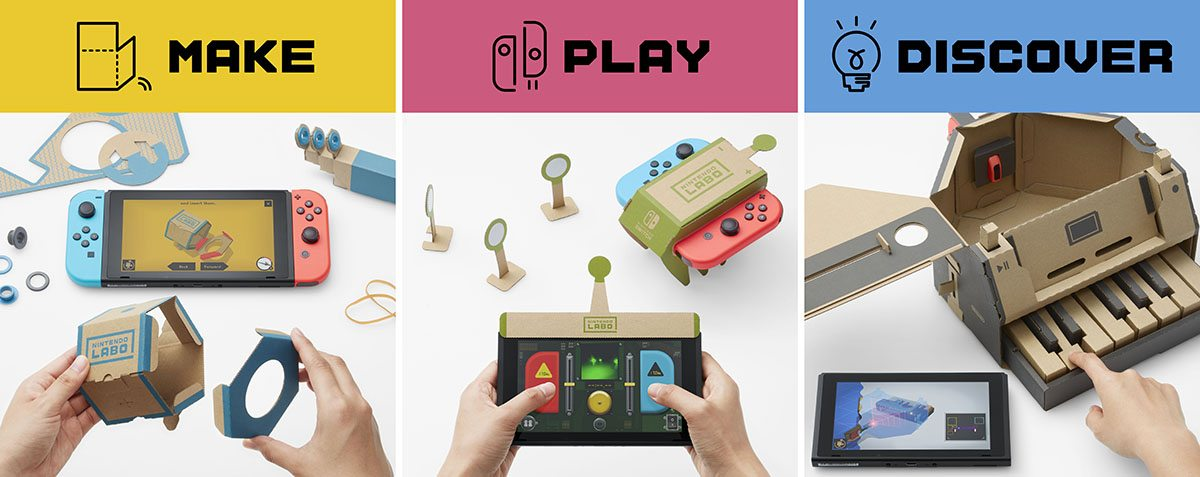 Make Play Discover Variety