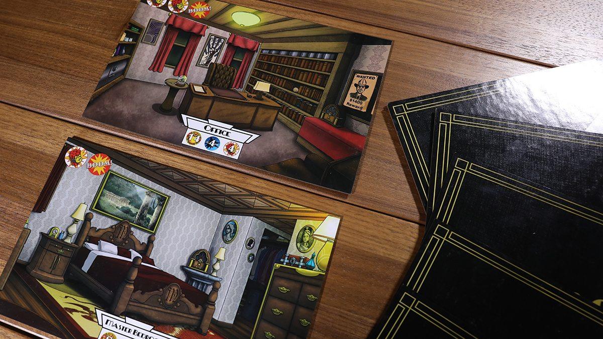 Mansky Caper rooms