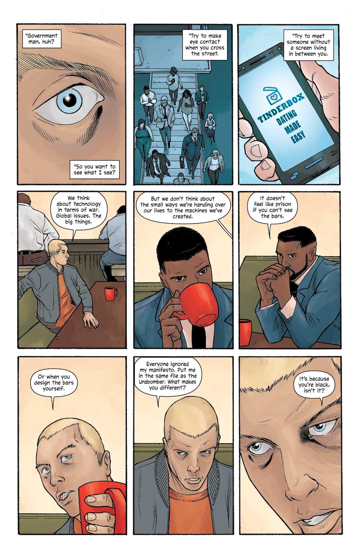 Michael Cray #4, Barry Allen