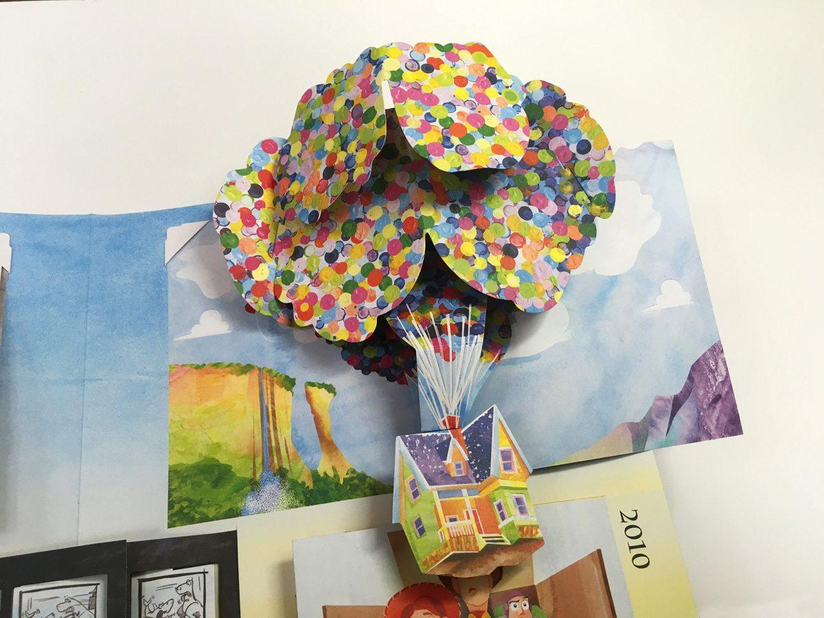 Pixar Pop-Up sample spread
