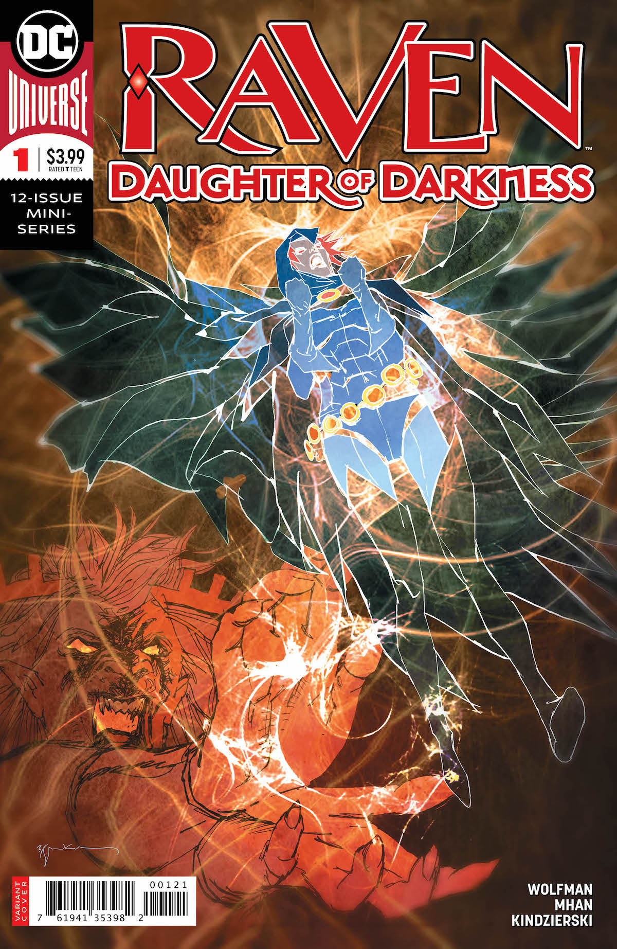 Raven, Daughter of Darkness #1 variant cover