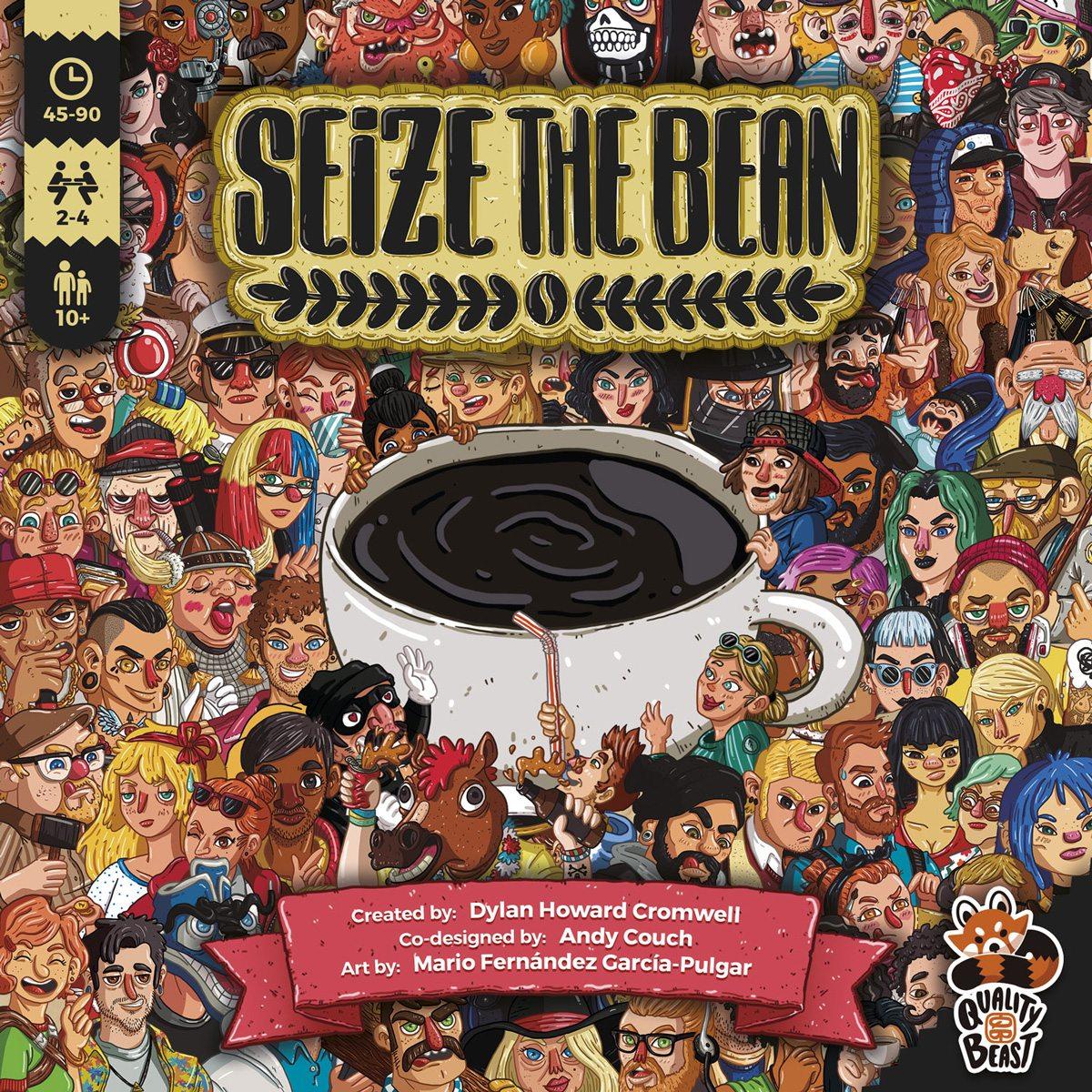 Seize the Bean box cover