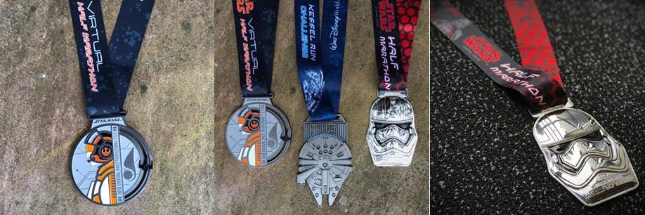 Star-Wars-Virtual-Run-Medals