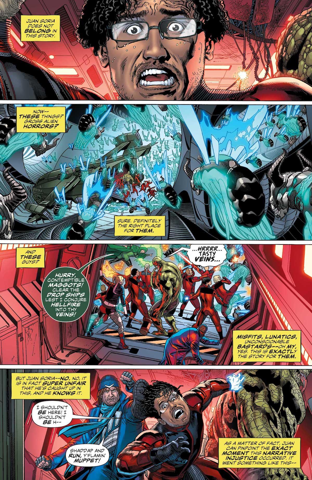 Suicide Squad #33 page 1