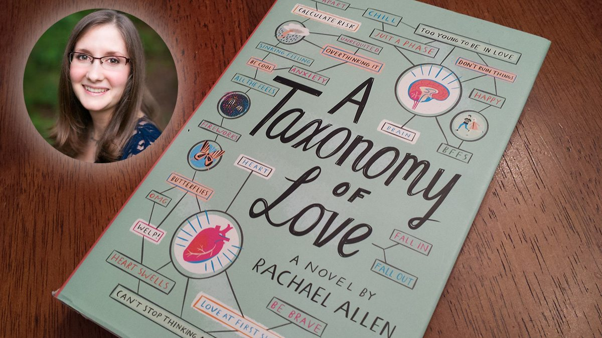'A Taxonomy of Love' Young Adult Novel by Rachael Allen