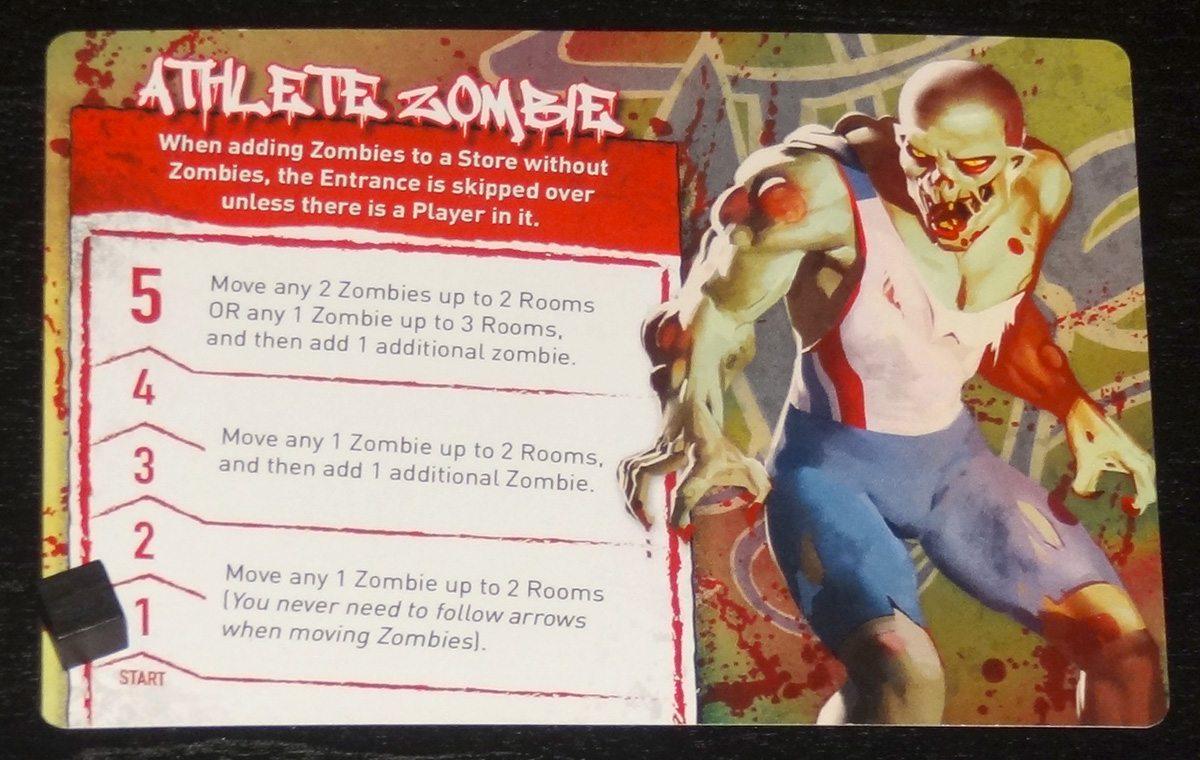 Tiny Epic Zombies Athlete Zombie