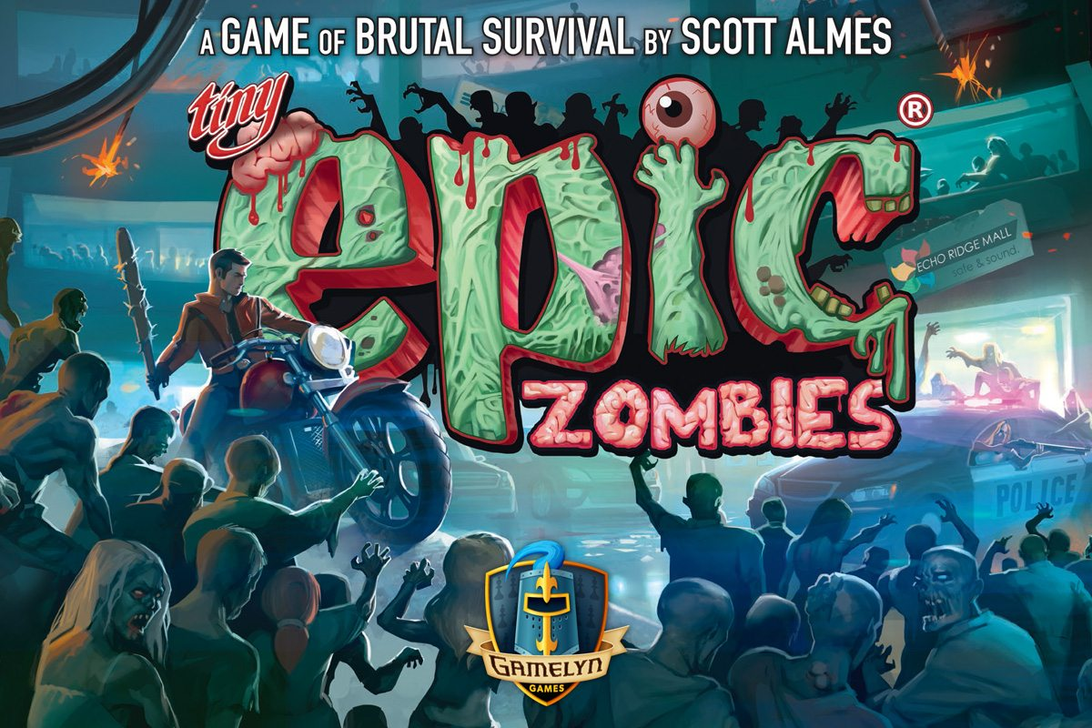Tiny Epic Zombies box cover