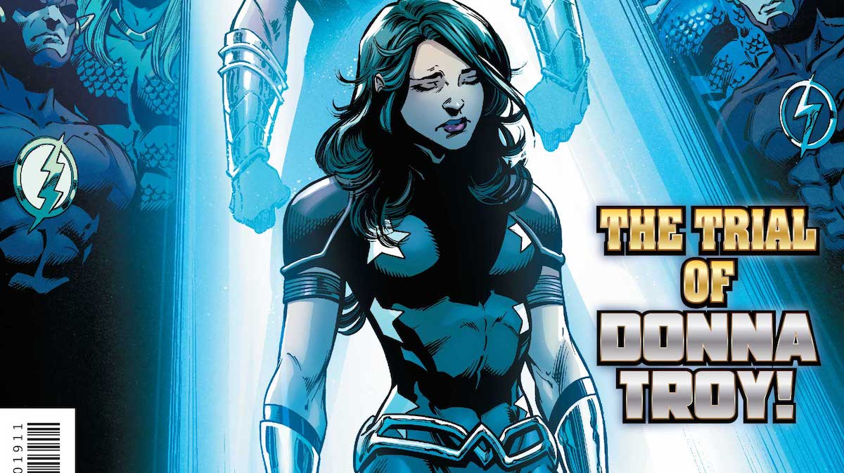 Donna Troy, cover, Titans #19