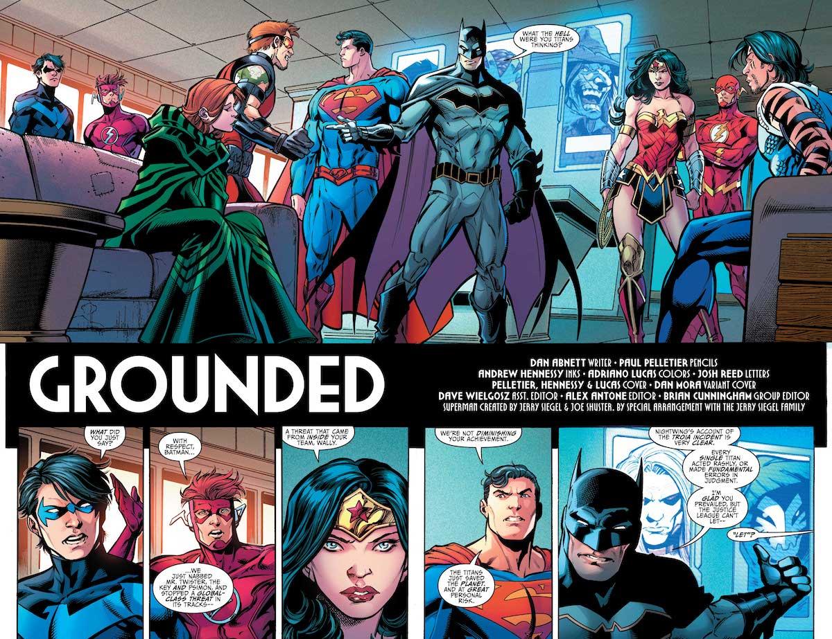 Justice League, Titans, Titans #19 cover