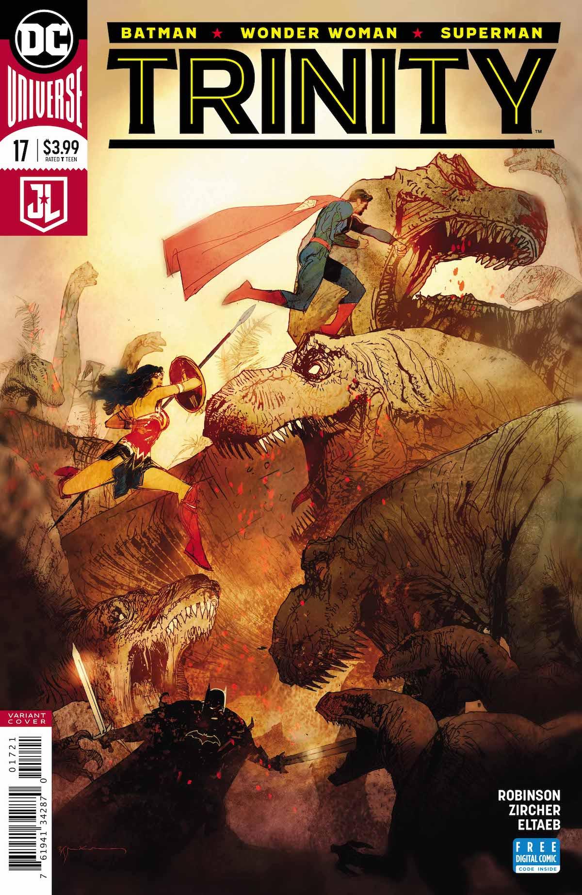 Trinity #17 variant cover