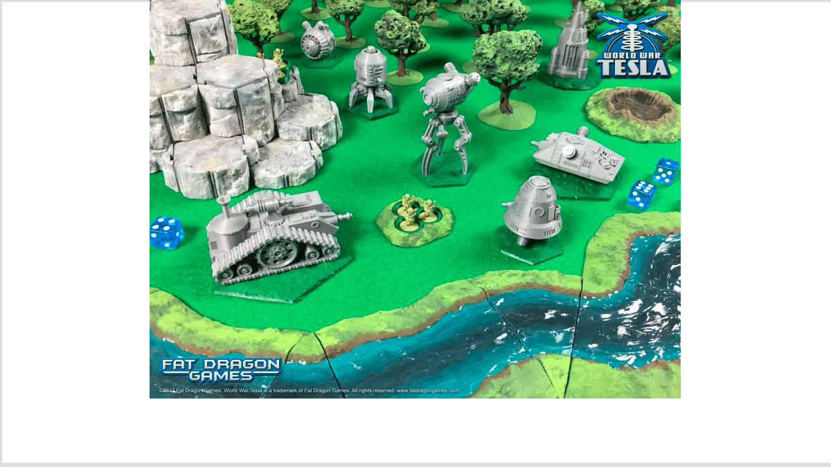 World War Tesla terrain