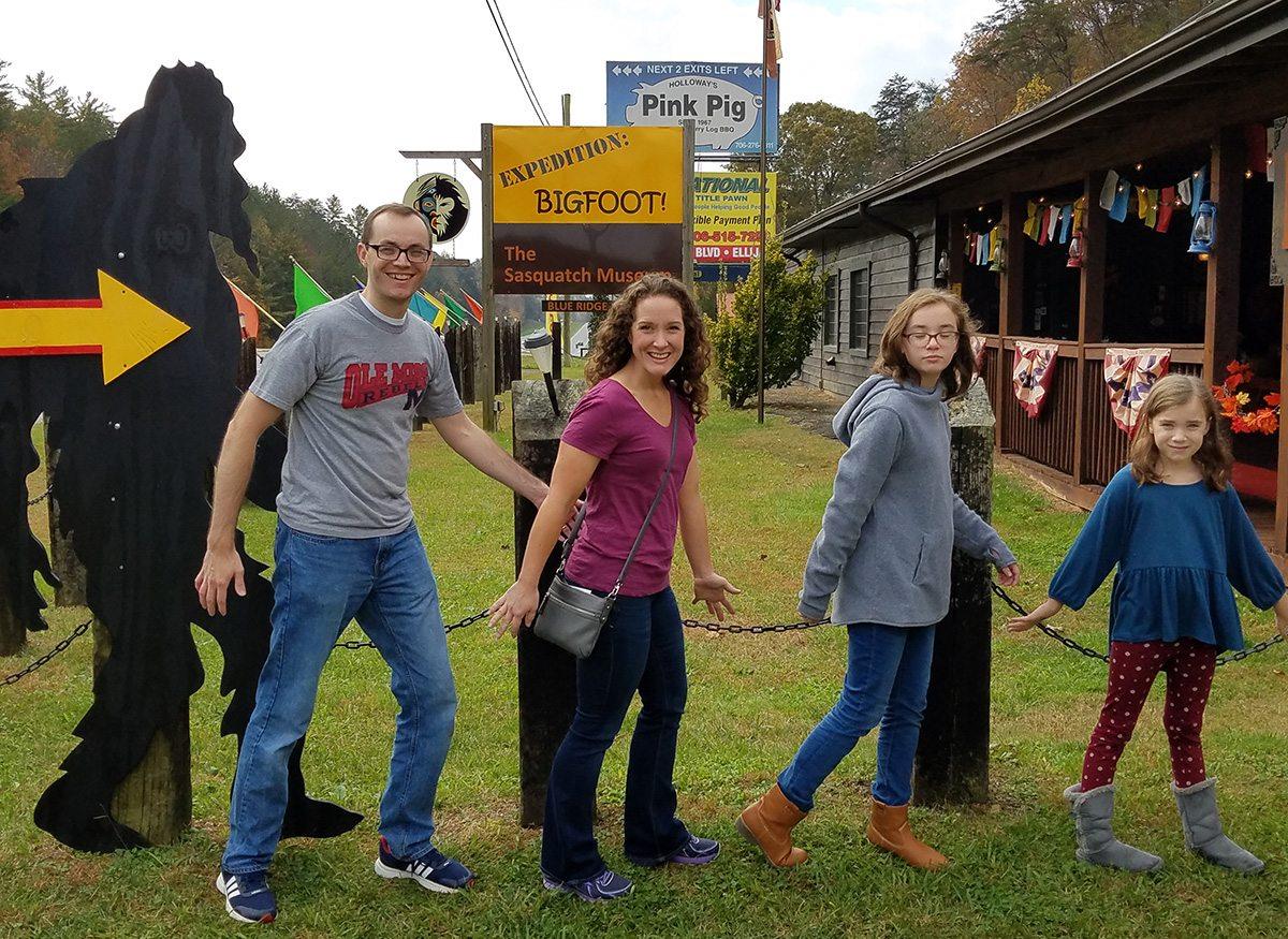 Expedition: Bigfoot! in Cherry Log, GA