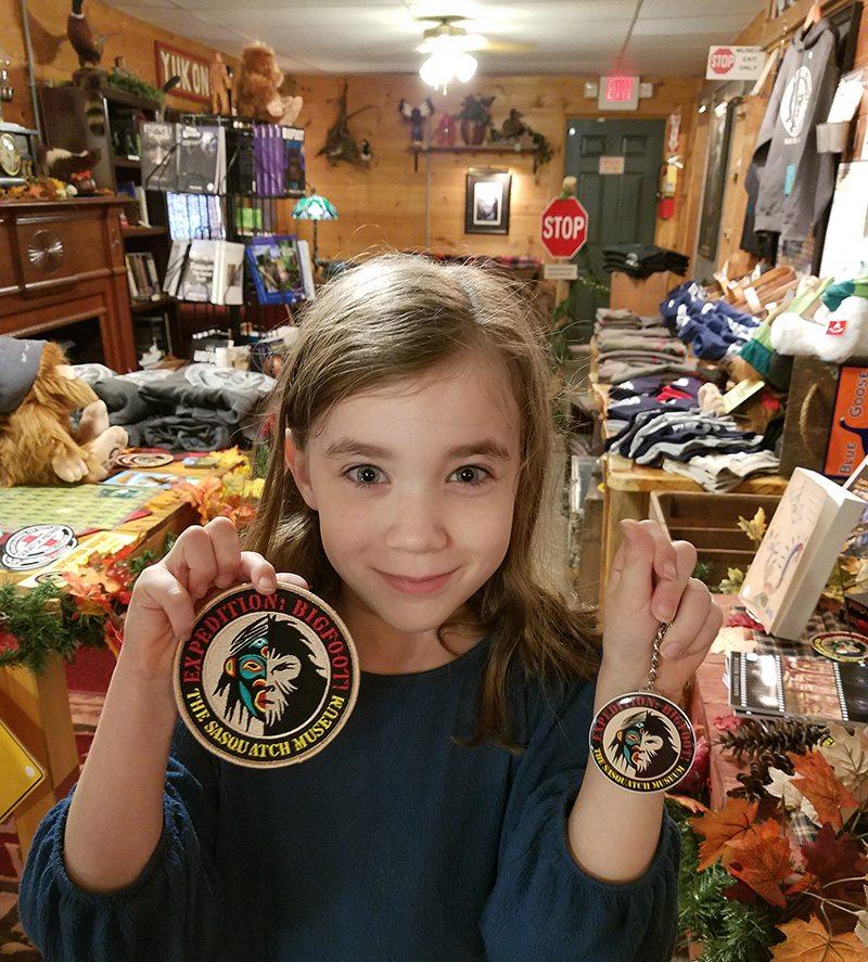Expedition: Bigfoot! gift shop