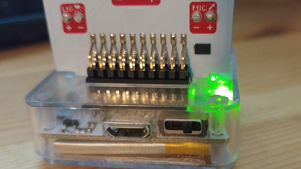 Rear inputs on Little Robot Friend