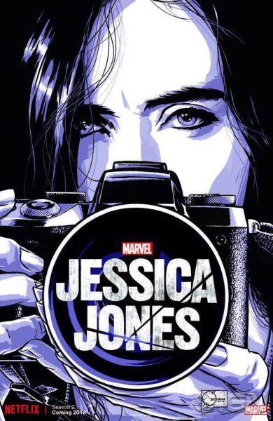 Jessica Jones Season 2 teaser poster