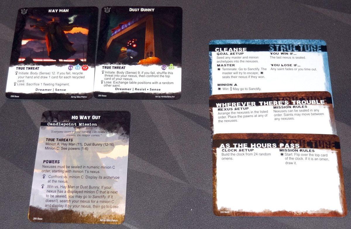 Apocrypha Setup cards