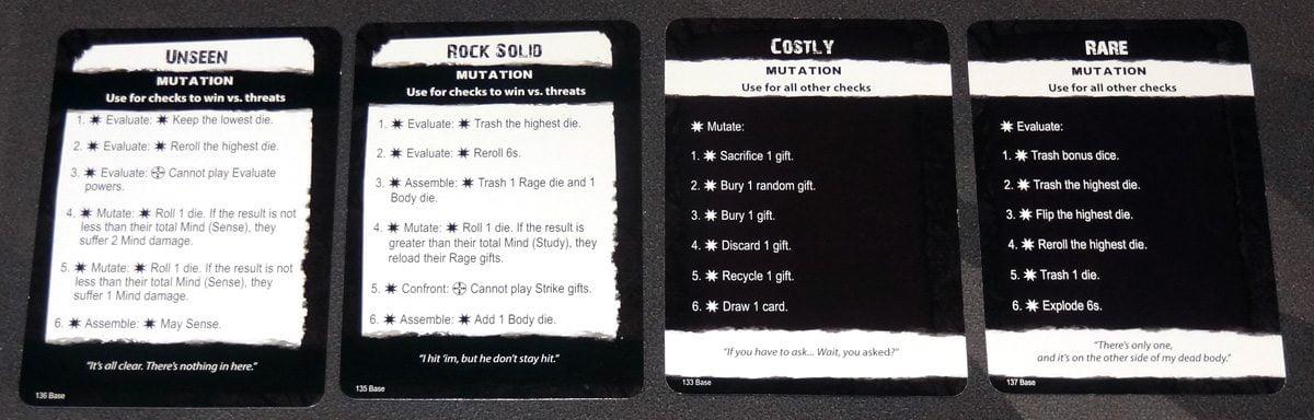 Apocrypha mutation cards