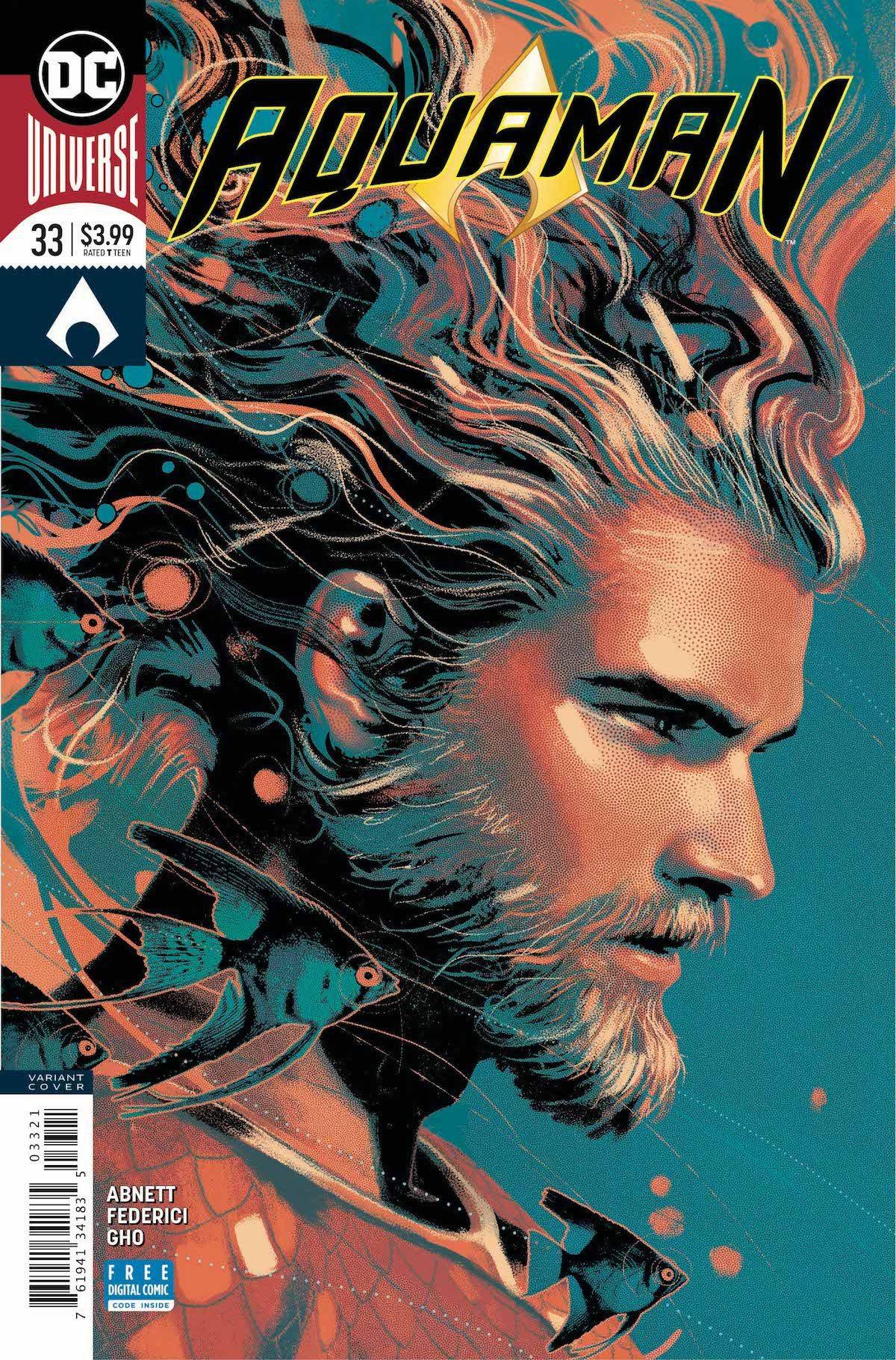 Aquaman #33 variant cover