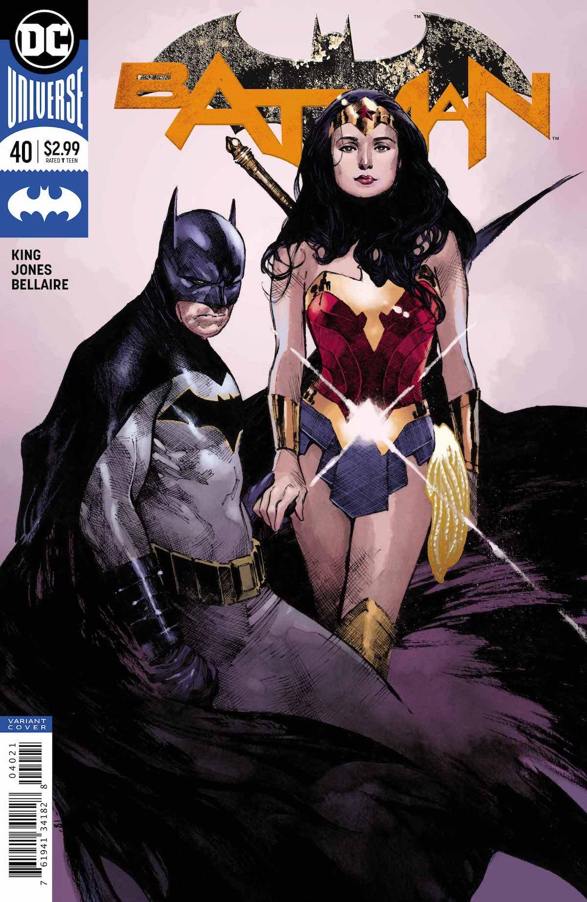 Batman #40 variant cover