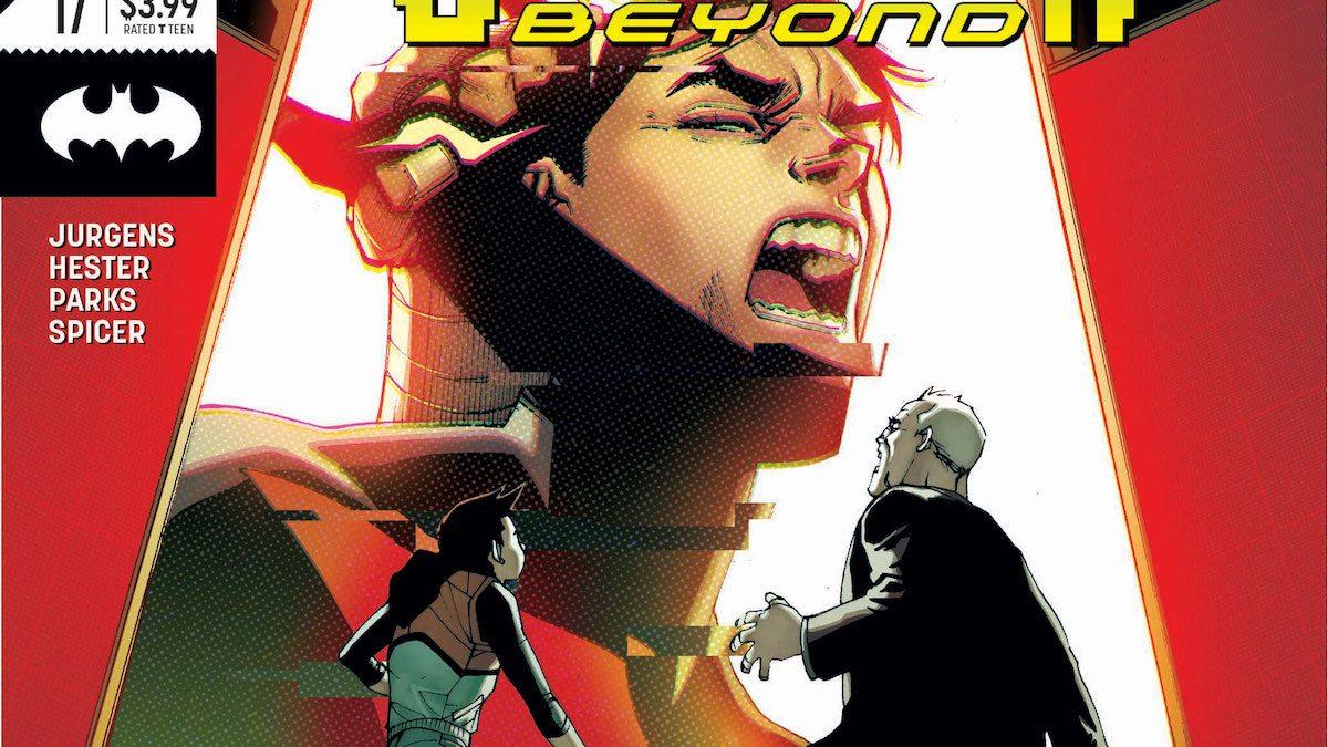 Batman Beyond #17 cover