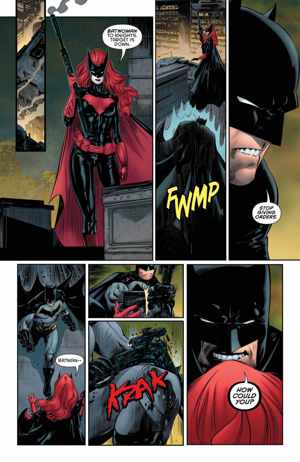Batman: Detective Comics #974 interior page