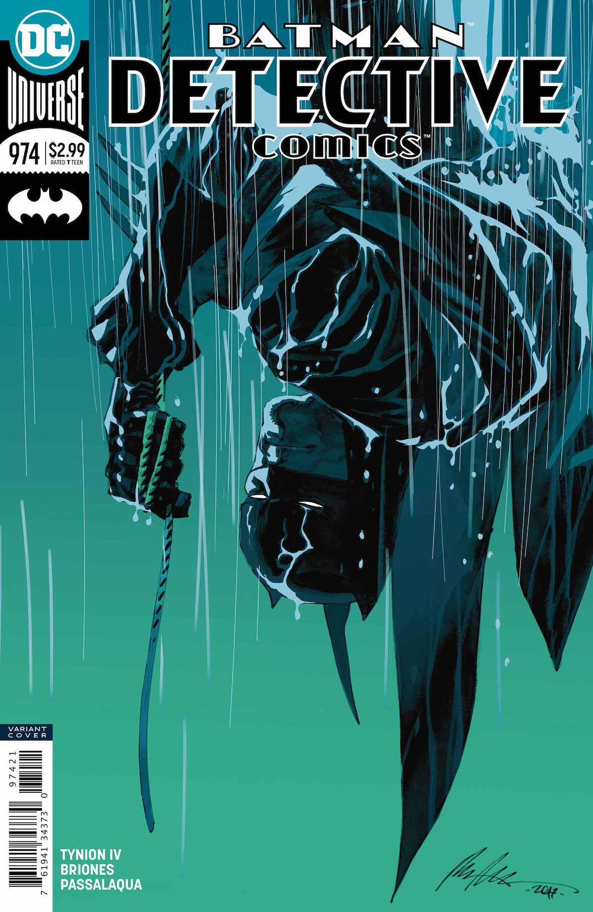 Batman: Detective Comics #974 variant cover