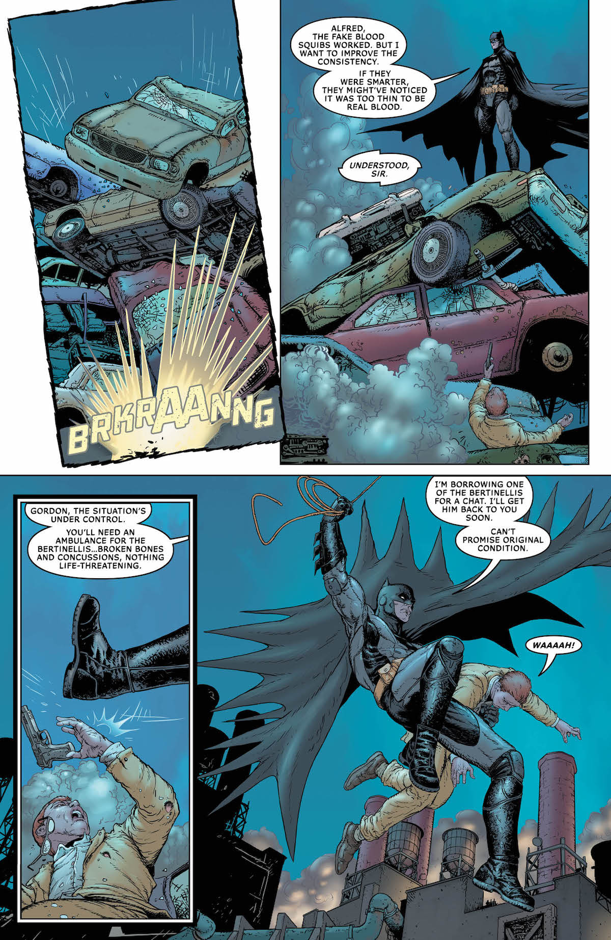 Batman: Sins of the Father #1 page 5