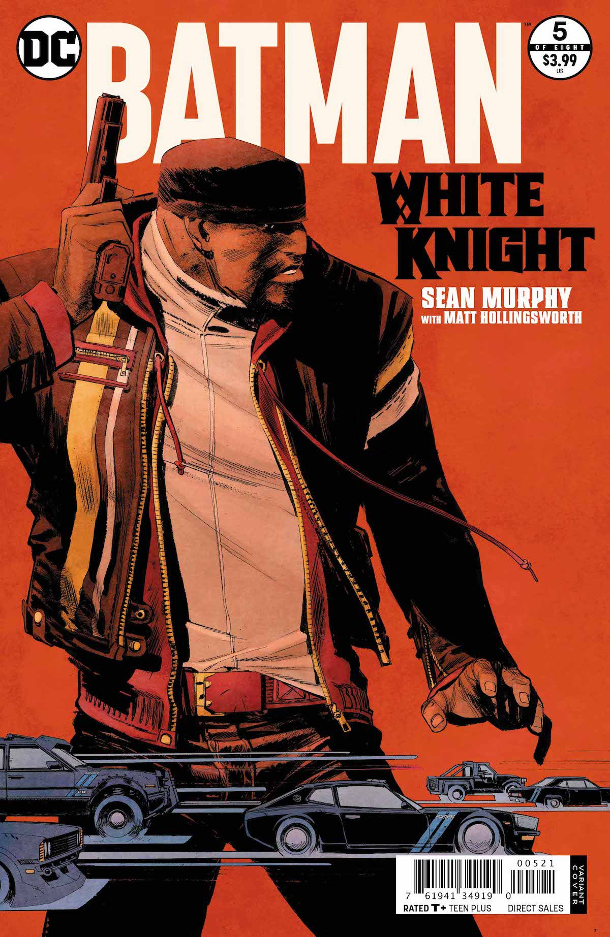 Batman: White Knight #5 varian cover