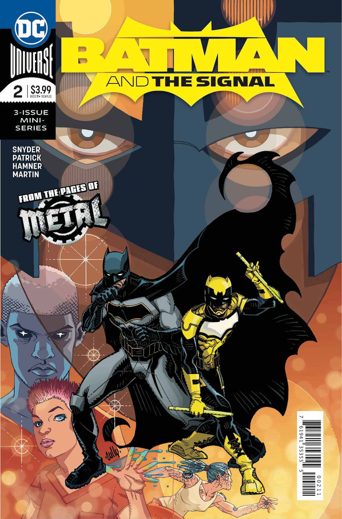 Batman and the Signal #2 cover