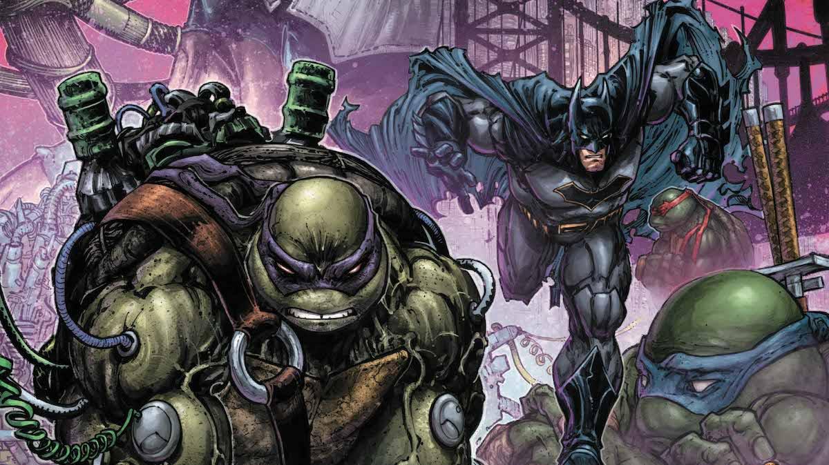 Batman/Teenage Mutant Ninja Turtles 2 #4 cover