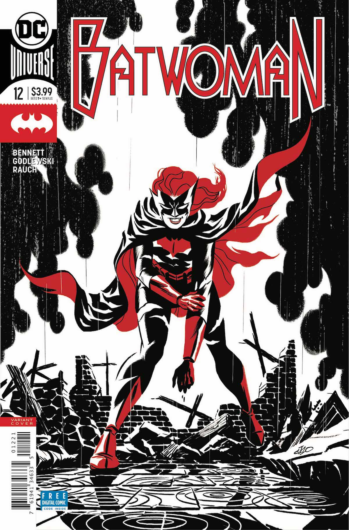 Batwoman #12 variant cover